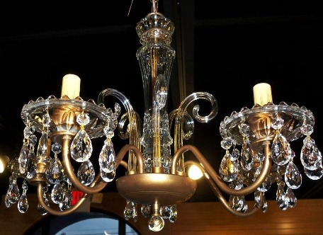Antique chandeliers by lamp shade outlet bottom view antique chandelier aloadofball Images