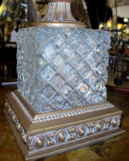 Crystal Lamp Base · Stiffel Lamp