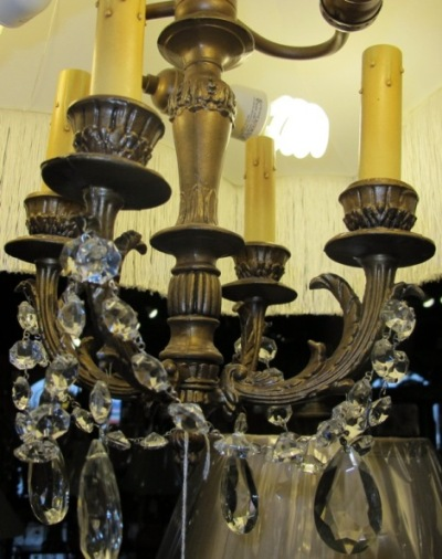 Antique Chandeliers by Lamp Shade Outlet