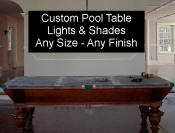 billiard light - Pool table shade