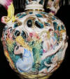 Capodimonte lamp made in Italy