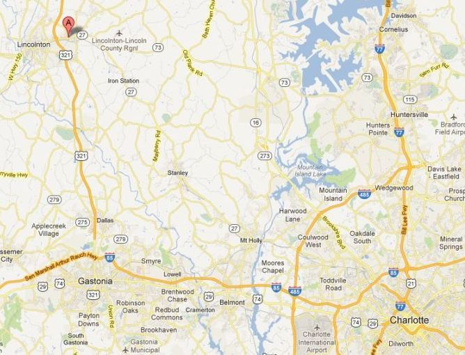 Map Of Charlotte Nc Related Keywords Amp Suggestions  Map