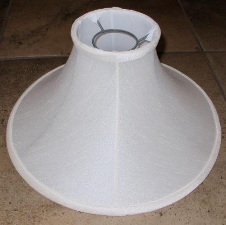 Chimney lamp shades by lamp shade outlet chimney lamp shade silk shantung bell aloadofball Choice Image