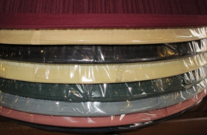 7x17x12 $59, Pleated Color Lamp Shades