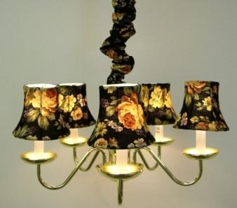 swag lights by lamp shade outlet. Black Bedroom Furniture Sets. Home Design Ideas
