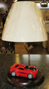 Custom race car lamp