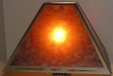Custom lamp shades of silk metal mica linen paper custom mica lamp shade aloadofball Images
