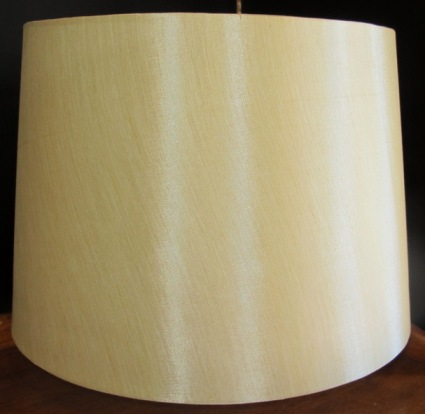 1 Left, Gold Quoizel Drum Shade