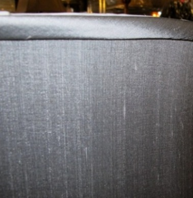 Short drum lamp shades drum shade silk gray aloadofball Choice Image
