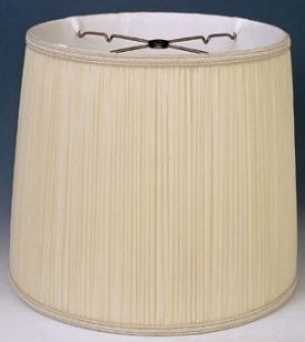 Stiffel lamp shades for the original vintage styles mushroom pleated drum shade mozeypictures Images
