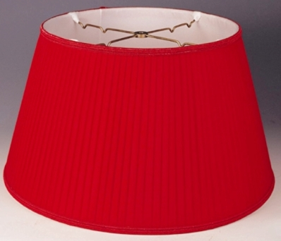 Floor lamp shades for standing pole lamps email photo for quote floor lamp shade red pleated mozeypictures Image collections