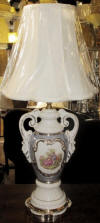 George an Martha Washington lamp