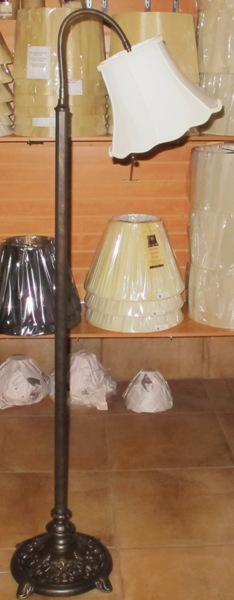 Gooseneck floor lamps adjustable floor lamps by lamp shade outlet bronze gooseneck floor lamp aloadofball Images