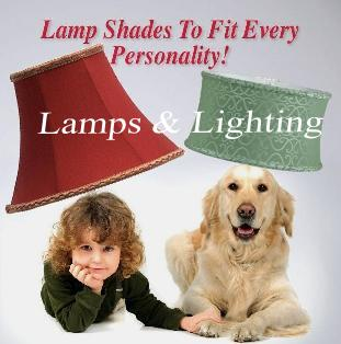 Lamp shades for table lamps, floor lamps, chandeliers, hanging lamps and wall lamps