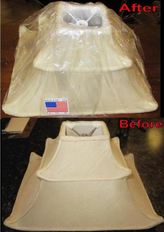 Restore chimney shade, Pagoda lamp shade recovered  Exotic lamps 8