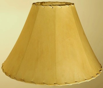 Leather Lamp Shades Faux Leather Vinyl And Real Sheep Skin