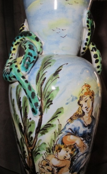 Snake Amp Maiden Vintage Art Deco Lamp Lamp Shade Pro