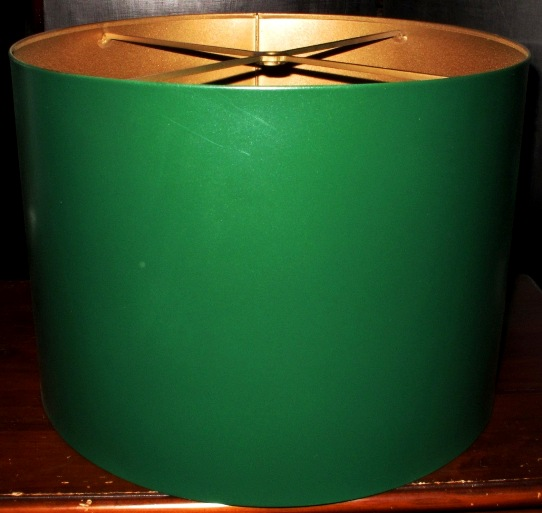 Green Drum Metal Lamp Shade