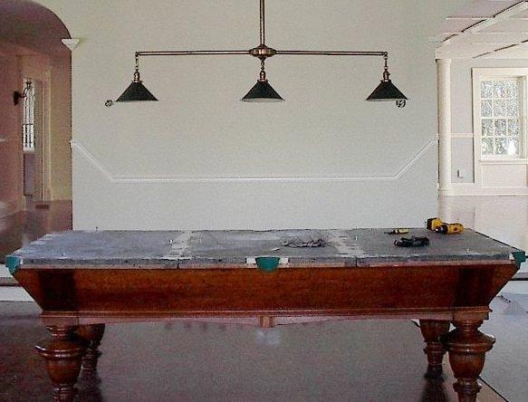 Superieur Pool Table Metal Lamp Shade ...