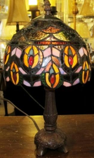 mini tiffany lamp