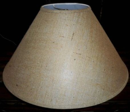 8x24x14 $109, Modern wide coolie lamp shade