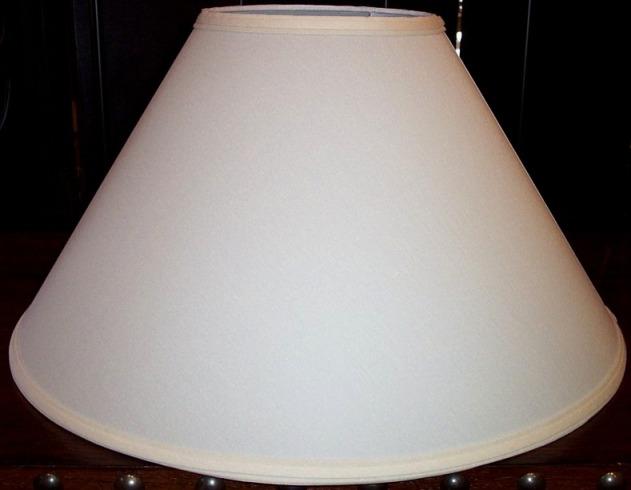 8x22x13 $89, Modern wide coolie lamp shade