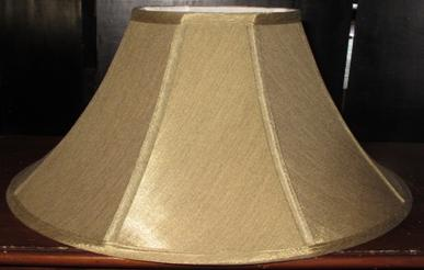 Coolie lamp shades with wide bottoms and narrow tops modern wide coolie lamp shade mozeypictures Image collections