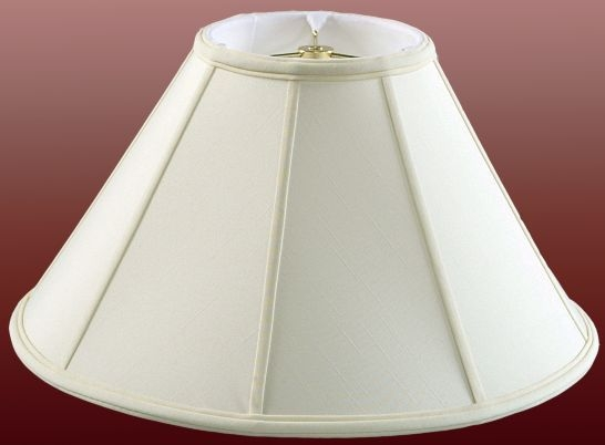 Coolie lamp shades with wide bottoms and narrow tops modern wide coolie lamp shade aloadofball Image collections