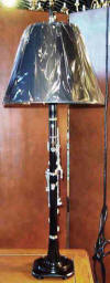 Music lamp clarinet lamp