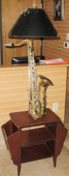 Music lamp - Saxophone floor lamp