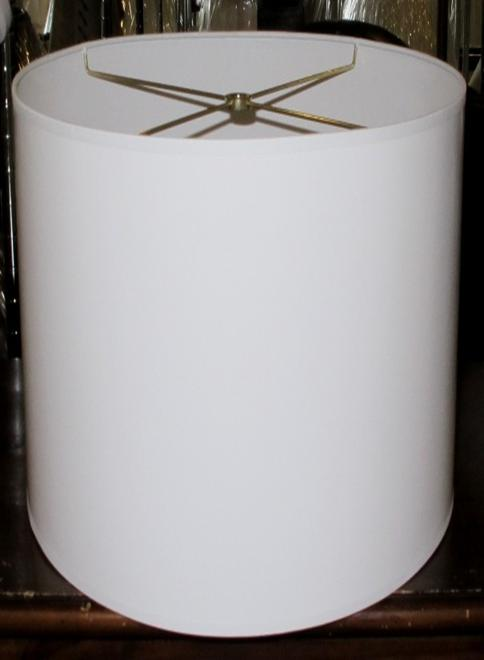 Drum Shade Tall Paper Cylinder