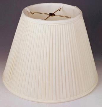 Pleated Lamp Shades Box English Roll Side Smock Mushroom