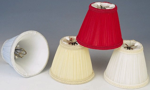 Pleated lamp shades box english roll side smock mushroom blue beige red white pleated lamp shades aloadofball Image collections