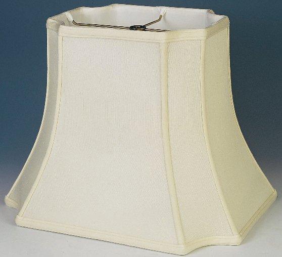... Rectangle Lamp Shade Silk Inverted Corner