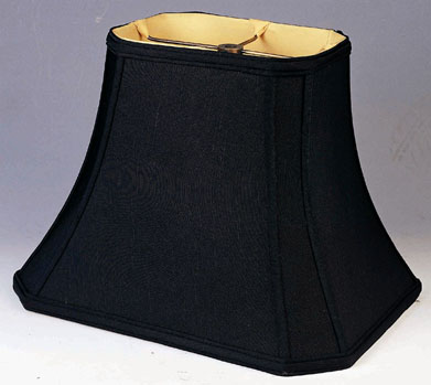8 Lamp Shade: ... Rectangle Lamp Shade black silk,Lighting