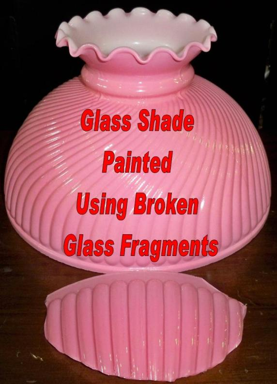 Replacement glass lamp shades hand painting to match your base glass shade replacement and hand painting mozeypictures Image collections