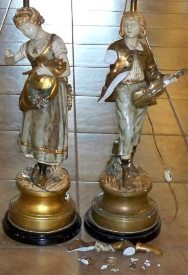 Marbro Lamp Repair Statue And Figurine Repair