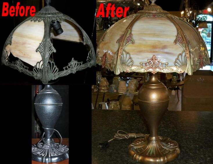 Slag lamp repair slag shade repair slag lamp repair mozeypictures Images