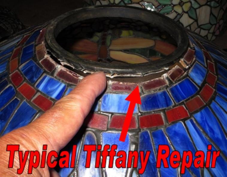 Tiffany Lamp Repair And Tiffany Shade Repair