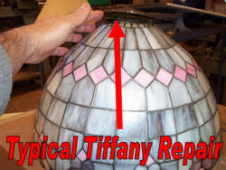 Tiffany repair