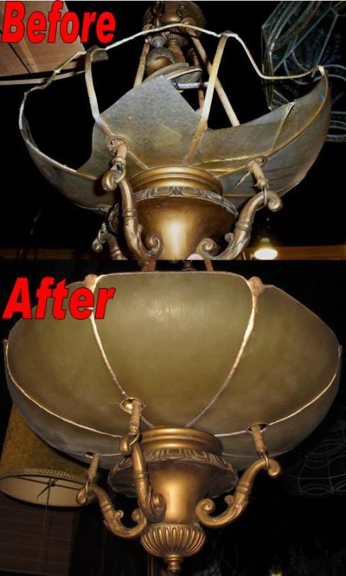 Lighting and chandelier repair by lamp shade outlet chandelier repair aloadofball Choice Image