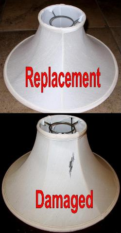Repair lamp shades recover or duplicate your old lamp shade repair recover oil lamp shade mozeypictures Choice Image