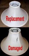 Repair Lamp Shades Recover Or Duplicate Your Old Lamp Shade