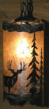 Rustic lighting pendant