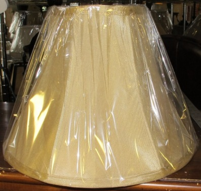 Antique Gold Bell Silk Lamp Shade 6x13x10. On Sale At Lamp Shade Pro