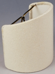 Sconce shades half shades shield shape shades for wall lamps sconce shade half lamp shade aloadofball Choice Image