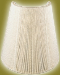 Sconce shades half shades shield shape shades for wall lamps 3x5x5 24 sconce shade half lamp shade aloadofball Gallery