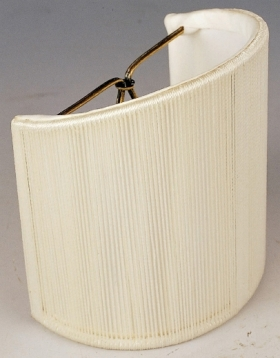 Half Shield Shades For Wall Lights : Sconce Shades - Half Shades, Shield Shape Shades for Wall Lamps