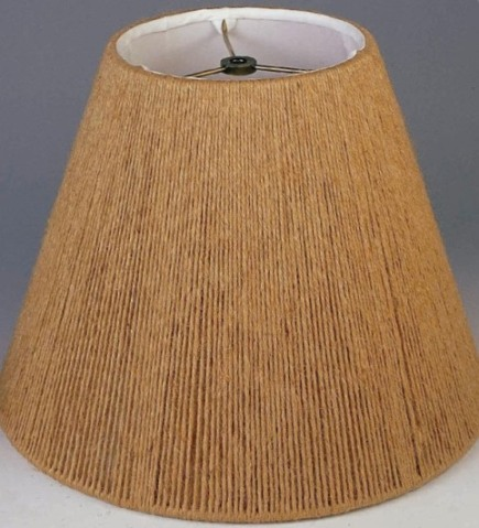 Linen String Lamp Shade, Empire Shape