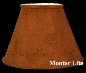 ... Table Lamp Shade Suede Chocolate Fabric Suede Chocolate Brown M1447